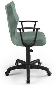 Офисный стул Entelo Norm AL05, черный/зеленый