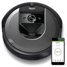 iRobot Robotic Vacuum Cleaner Roomba i7158 Black/Silver