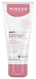 Mincer Pharma Anti Allergic Regenerating Face Mask 75ml