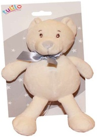 Axiom Teddy Bear Tulis With Rattle 16cm