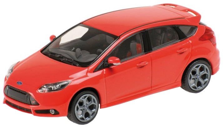 Minichamps Ford Focus ST 2011 1:18 Red