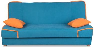 Platan Sofa Maxim II 02 Turquoise/Orange