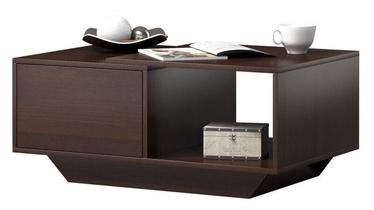 Kafijas galdiņš Top E Shop Alto, brūna, 900x600x420 mm