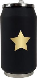 Yoko Design Isotherm Tin Can 0.28l Star Black/White