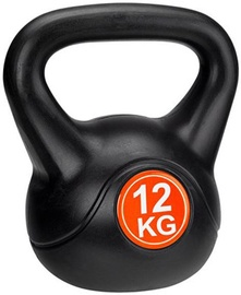 Avento Kettle Ball 12kg Black/Orange