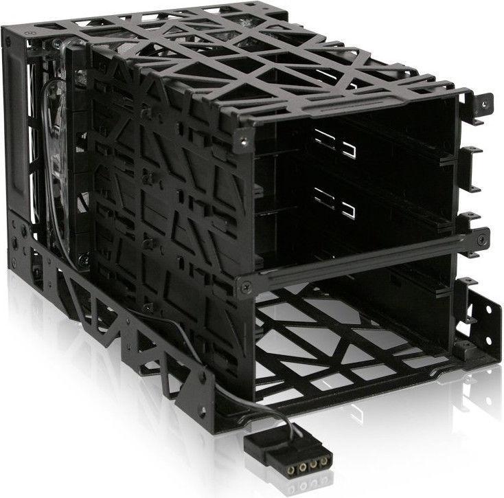 "Icy Dock MB074SP-B0 Black Vortex 4x3.5"" IDE/SAS/SATA"