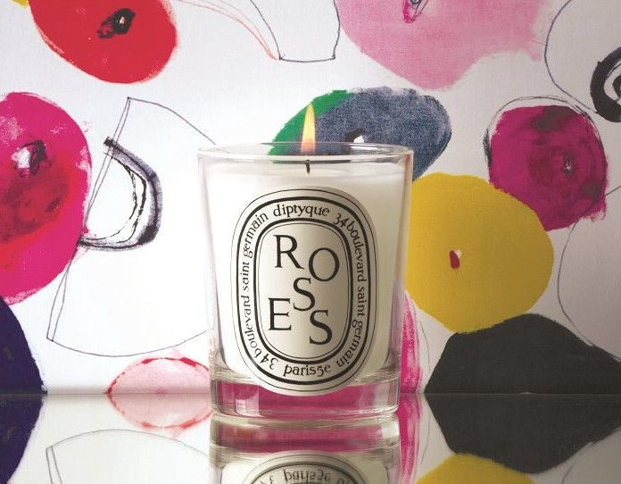 Свеча Diptyque Scented Candle Roses