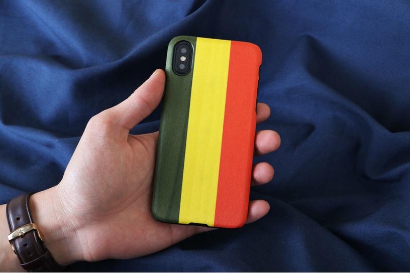 Man&Wood Reggae Back Case For Apple iPhone X/XS