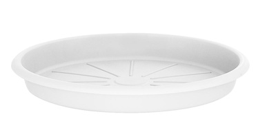 Поддон для вазона Domoletti STTE0028-110, белый, 280 мм
