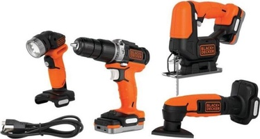 Black & Decker BDCK123S2S Kit of 4 12V 2x1.5Ah