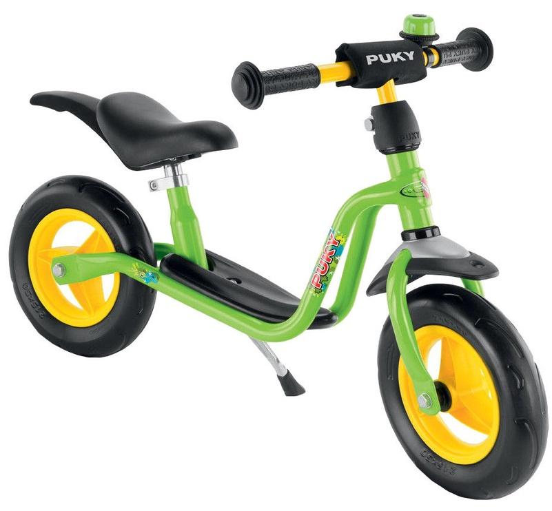 Vaikiškas dviratis Puky LR M Plus Balance Bike 4073 Green