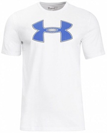 Under Armour Mens Big Logo T-Shirt 1329583 100 White XXL