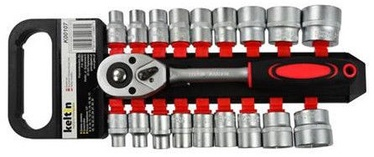 Geko Socket Set With Ratchet 8-32mm 19pcs