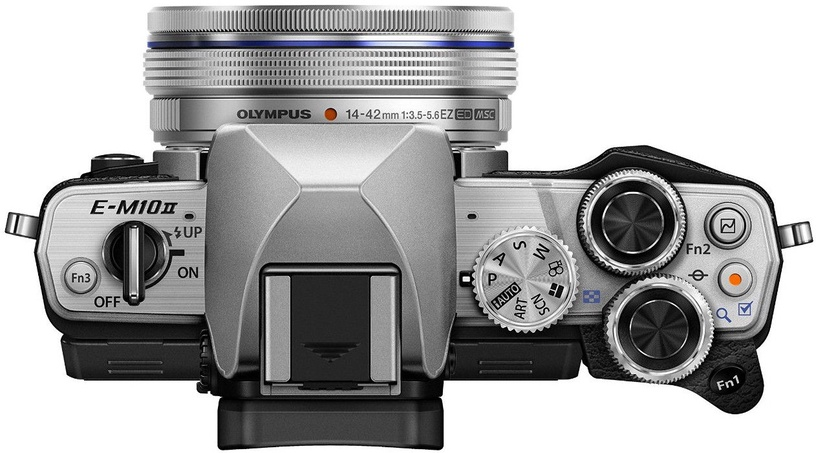 Olympus OM-D E-M10 Mark II Silver + 14-42mm II R Silver Kit