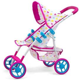 Lėlių vežimėlis Milly Mally Natalie Candy 24958 White/Pink