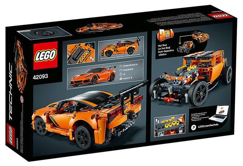 Konstruktorius LEGO®Technic 42093 Chevrolet Corvette ZR1