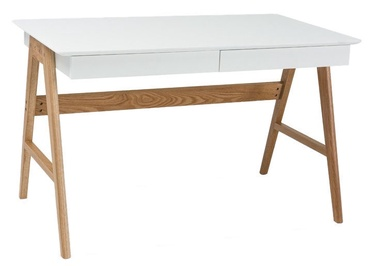 Signal Meble Scandic Desk Oak/White