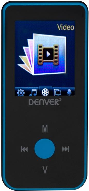 Музыкальный проигрыватель Denver MPG-4084BT, синий, 4 ГБ