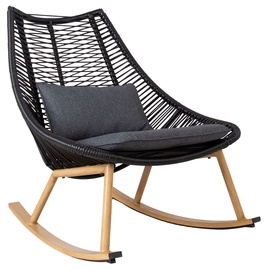 Home4you Helsinki Rocking Chair Black