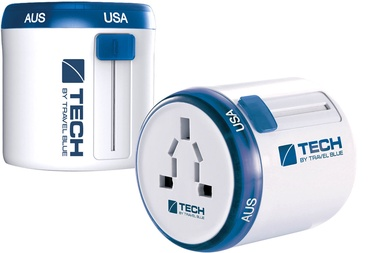 Travel Blue Twist & Slide Worldwide Travel Adaptor Europe Edition