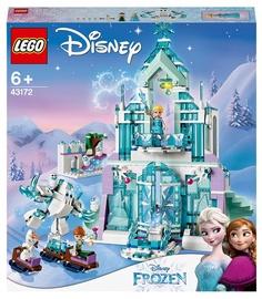 Конструктор LEGO Disney Frozen Волшебный ледяной замок Эльзы 43172, 701 шт.