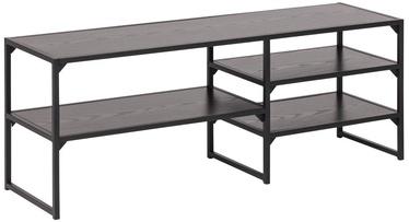 TV galds Home4you Seaford, brūna/melna, 1200x330x460 mm