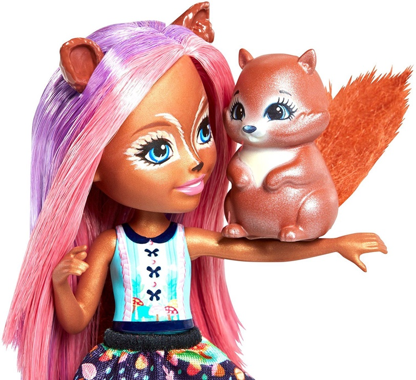 Кукла Mattel Enchantimals Sancha Squirrel FMT61
