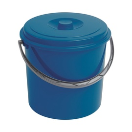 Curver Bucket With Lid 12L Blue
