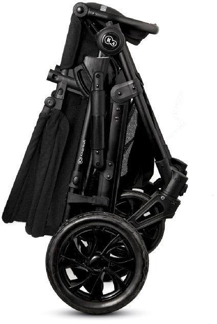 Universalus vežimėlis KinderKraft Prime Lite 3 in 1 Black