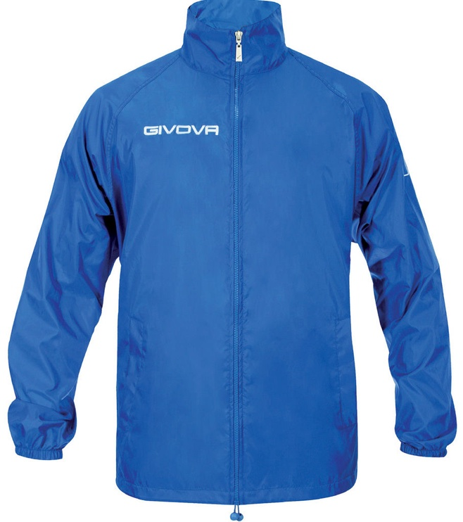 Куртка Givova Basico Rain Jacket Blue XS