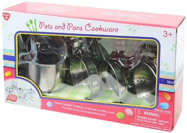 PlayGo Macaroon Pots & Pans Cookware 68033