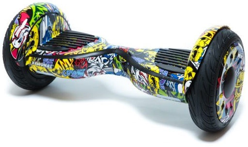 Visional Hoverboard 10.5'' With Bluetooth Sticker Boom