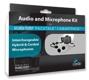 Cardo Scala Packtalk & Smartpack Audio Kit