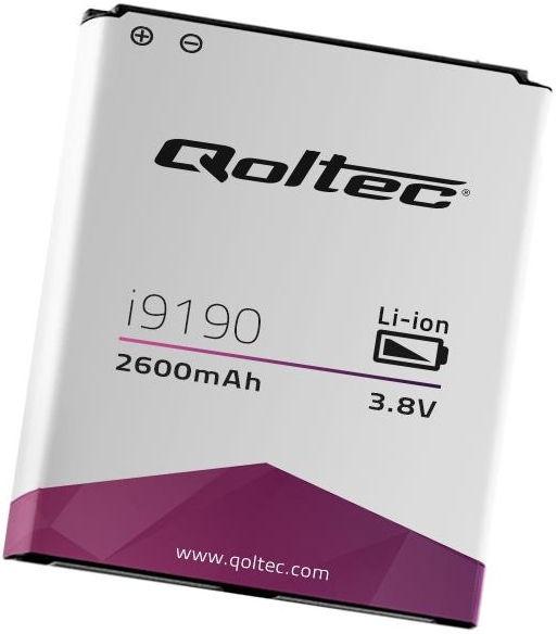 Qoltec Battery For Samsung Galaxy S4 Mini i9190/i9195 2600mAh