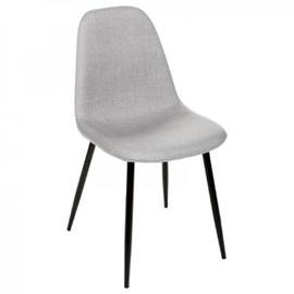 Valgomojo kėdė, pilka