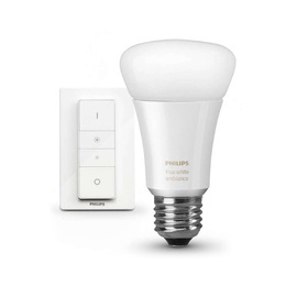 Išmani LED lempa Philips Hue A19, 9.5W, E27, 2200-6500K, 800lm, DIM