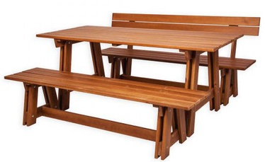 Folkland Timber Garden Set Riva Brown