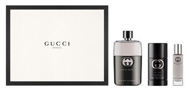 Gucci Guilty 90ml EDT + 15ml EDT + 75ml Deodorant Stick