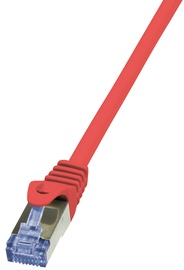 Logilink Patch Cable CAT 6A 10G S/FTP PrimeLine 3m Red