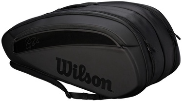 Wilson Federer DNA 12 Pack Bag Black