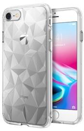 Blun 3D Prism Shape Back Case For Samsung Galaxy J3 J330 Transparent