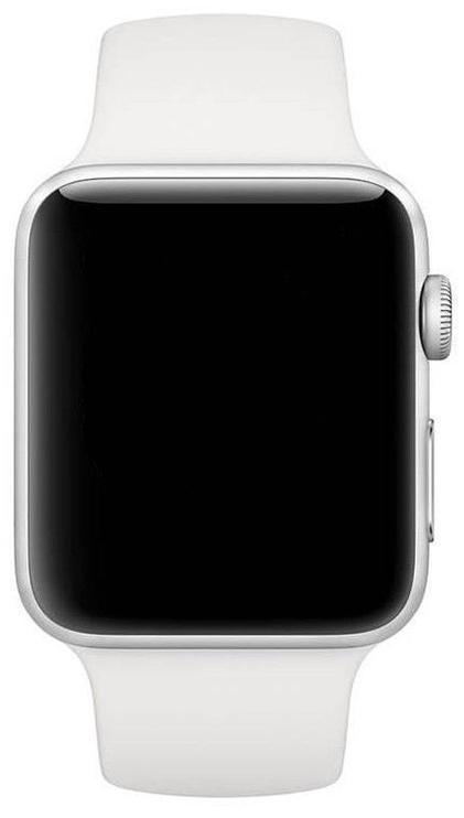 Išmanusis laikrodis Apple Watch Series 3, balta/sidabro