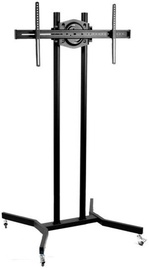 Techly Mobile Stand For TV LCD/LED/Plasma 37''-70'' Black