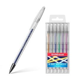 ErichKrause R-301 Metallic Gel Pen Original Gel 6pcs