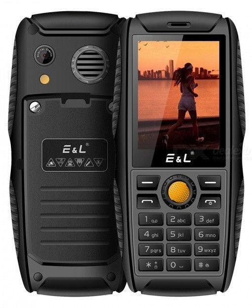 E&L S200 Black Blue