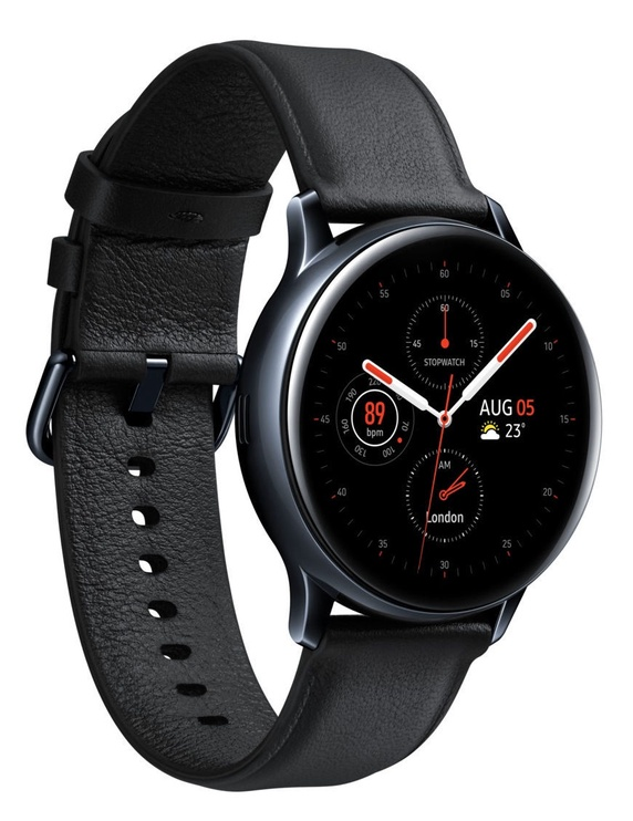 Išmanusis laikrodis Samsung SM-R835 Galaxy Watch Active2 40mm LTE Stainless Steel Black
