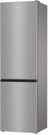 Gorenje Fridge Freezer NRK6201ES4 Gray