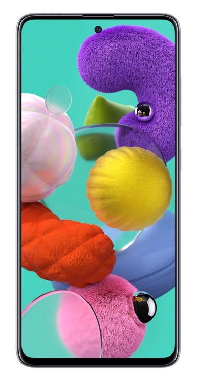 Мобильный телефон Samsung Galaxy A51, белый, 4GB/128GB