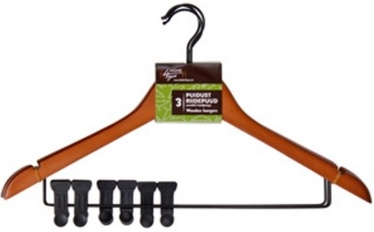 Home4you Metal Hanger Set 3pcs with Clips