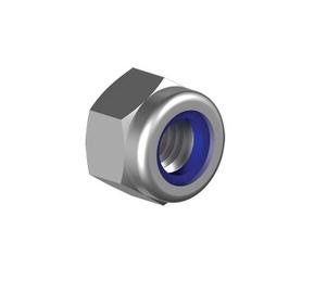 Mutter DIN 985, 6 mm, 25 tk